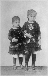 Mashke and Fetchke (Mary and her sister as children)