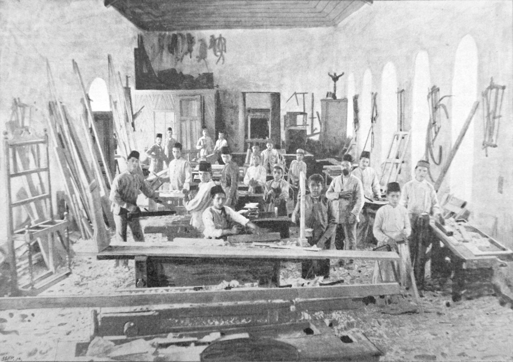 Jerusalem Vocational School: Carpentry Shop