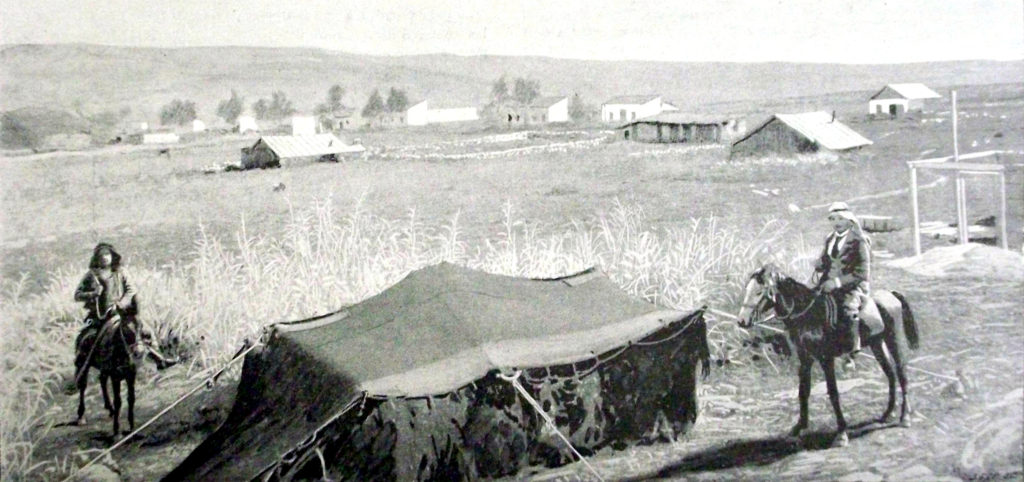 The agricultural colonies - Mishmar Hayarden