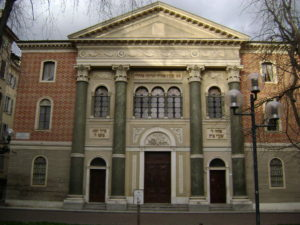 Synagogue in Modena, Italy