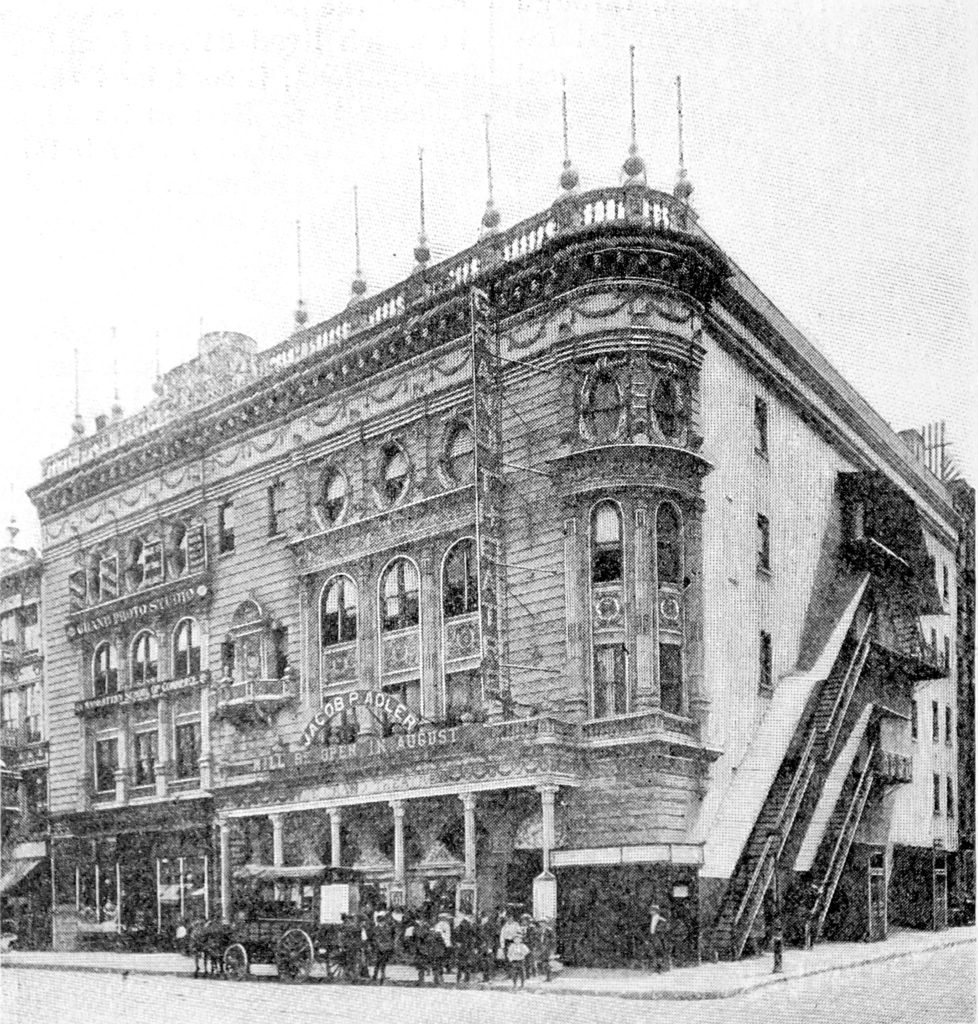 Exterior of the Grand Theatre